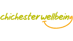 Chichester district Wellbeing Logo