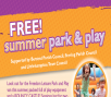 FREE Summer Park & Play Event Image