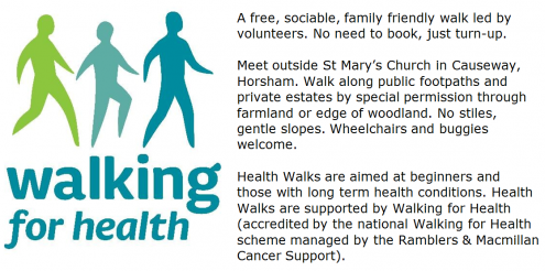 St Mary's Church Health Walk