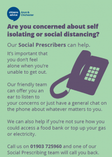 Social prescribing advert
